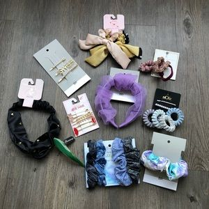 10 Piece Bundle of Nordstrom Hair Accessories NWT